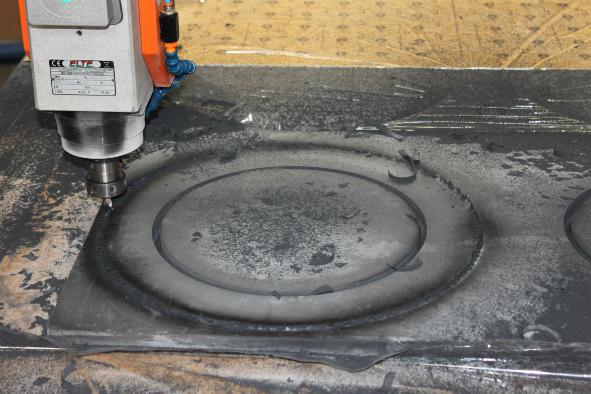 Hornet - Uszczelki CNC - Frezowanie elementów z gumy